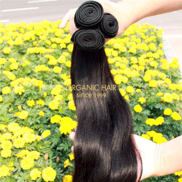 Virgin peruvian straight hair extensions